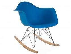 Bild von Stuhl-Design Eames Schaukelstuhl RAR - Meerblau