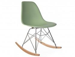 Bild von Stuhl-Design Eames  Schaukelstuhl  RSR - Mandel grün