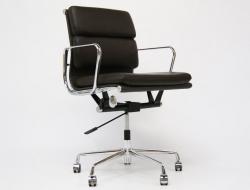 Bild von Stuhl-Design Eames Soft Pad EA217 - Dunkelbraun
