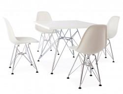 Bild von Stuhl-Design Eiffel Kinder Tisch - 4 DSR Stühle