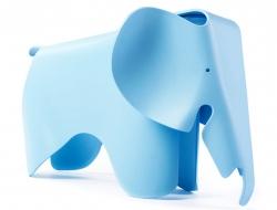 Bild von Stuhl-Design  Elefant Eames - Blau