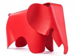 Bild von Stuhl-Design Elefant Eames - Rot