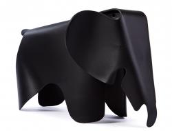 Bild von Stuhl-Design Elefant Eames - Schwarz