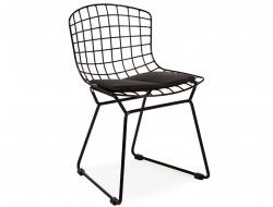 Bild von Stuhl-Design Kinder Bertoia Wire Side Stuhl - Schwarz