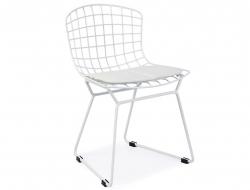Bild von Stuhl-Design Kinder Bertoia Wire Side Stuhl - Weiß