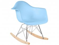 Bild von Stuhl-Design Kinder Eames Schaukelstuhl RAR - Blau