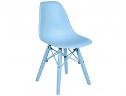 Bild von Stuhl-Design Kinder Stuhl DSW Color - Blau