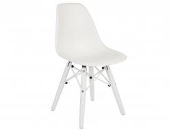 Bild von Stuhl-Design Kinder Stuhl DSW Color - Weiß