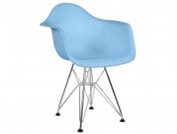 Bild von Stuhl-Design Kinder Stuhl Eames DAR - Blau