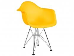 Bild von Stuhl-Design Kinder Stuhl Eames DAR - Gelb