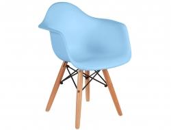 Bild von Stuhl-Design Kinder Stuhl Eames DAW - Blau