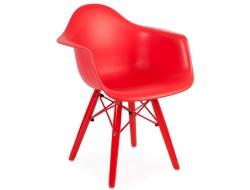 Bild von Stuhl-Design Kinder Stuhl Eames DAW Color - Rot
