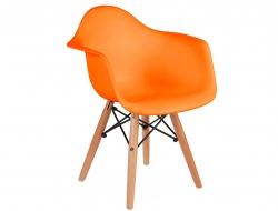 Bild von Stuhl-Design Kinder Stuhl Eames DAW - Orange
