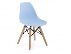 Bild von Stuhl-Design Kinder Stuhl Eames DSW - Blau