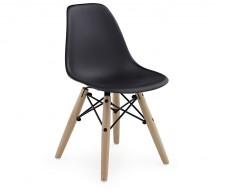 Bild von Stuhl-Design Kinder Stuhl Eames DSW - Schwarz