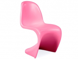 Bild von Stuhl-Design Kinder Stuhl Panton - Rosa