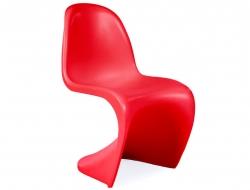 Bild von Stuhl-Design Kinder Stuhl Panton - Rot