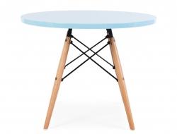 Bild von Stuhl-Design Kinder Tisch Eames - Blau