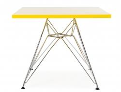 Bild von Stuhl-Design Kinder Tisch Eames Eiffel - Gelb