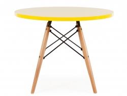 Bild von Stuhl-Design Kinder Tisch Eames - Gelb