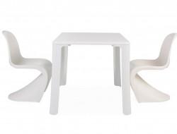 Bild von Stuhl-Design Kinder Tisch Jasmine - 2 Panton Stühle