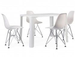Bild von Stuhl-Design Kinder Tisch Jasmine - 4 DSR Stühle