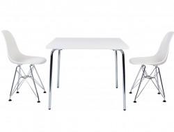 Bild von Stuhl-Design Kinder Tisch Olivier - 2 DSR Stühle