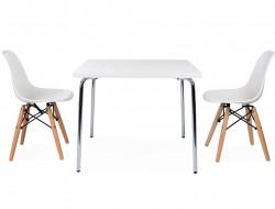 Bild von Stuhl-Design Kinder Tisch Olivier - 2 DSW Stühle