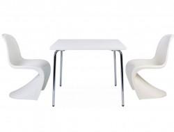 Bild von Stuhl-Design Kinder Tisch Olivier - 2 Panton Stühle