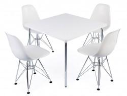 Bild von Stuhl-Design Kinder Tisch Olivier - 4 DSR Stühle