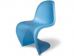 Bild von Stuhl-Design Panton Stuhl - Blau