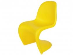 Bild von Stuhl-Design Panton Stuhl - Gelb