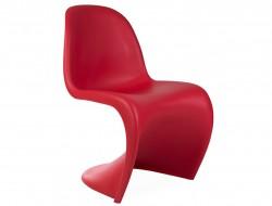 Bild von Stuhl-Design Panton Stuhl - Rot