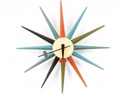 Bild von Stuhl-Design Wanduhr Starburst - George Nelson