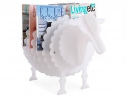 Bild von Stuhl-Design Zeitungsständer The Sheep - Weiß