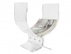 Bild von Stuhl-Design Zeitungständer Butterfly transparente