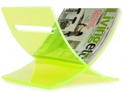 Bild von Stuhl-Design Zeitungständer The Cross - Grün