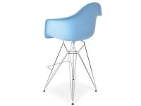 Bild von Stuhl-Design Barstuhl DAR - Blau
