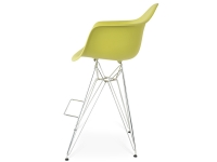 Bild von Stuhl-Design Barstuhl DAR - Olivgrün