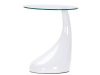 Bild von Stuhl-Design Beistelltisch Scoop - Weiß
