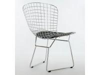 Bild von Stuhl-Design Bertoia Wire Side Stuh - Schwarz