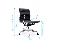 Bild von Stuhl-Design COSY Bürostühle 117 - Schwarz