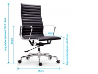 Bild von Stuhl-Design COSY Bürostühle 119 - Schwarz