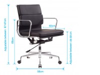 Bild von Stuhl-Design COSY Bürostühle 217 - Apfelgrün