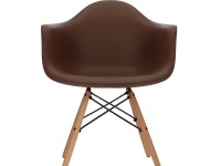 Bild von Stuhl-Design COSY Holz Stuhl - Braun