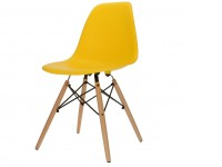 Bild von Stuhl-Design COSY Holz Stuhl - Gelb