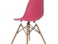 Bild von Stuhl-Design COSY Holz Stuhl - Rosa