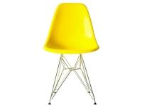 Bild von Stuhl-Design COSY Metall Stuhl - Gelb Glänzend