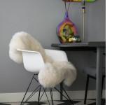 Bild von Stuhl-Design COSY Metall Stuhl - Weiß