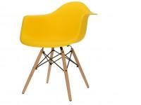 Bild von Stuhl-Design DAW Eames Stuhl - Gelb